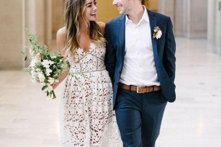 El vestido para mi boda civil / The dress for my civil wedding